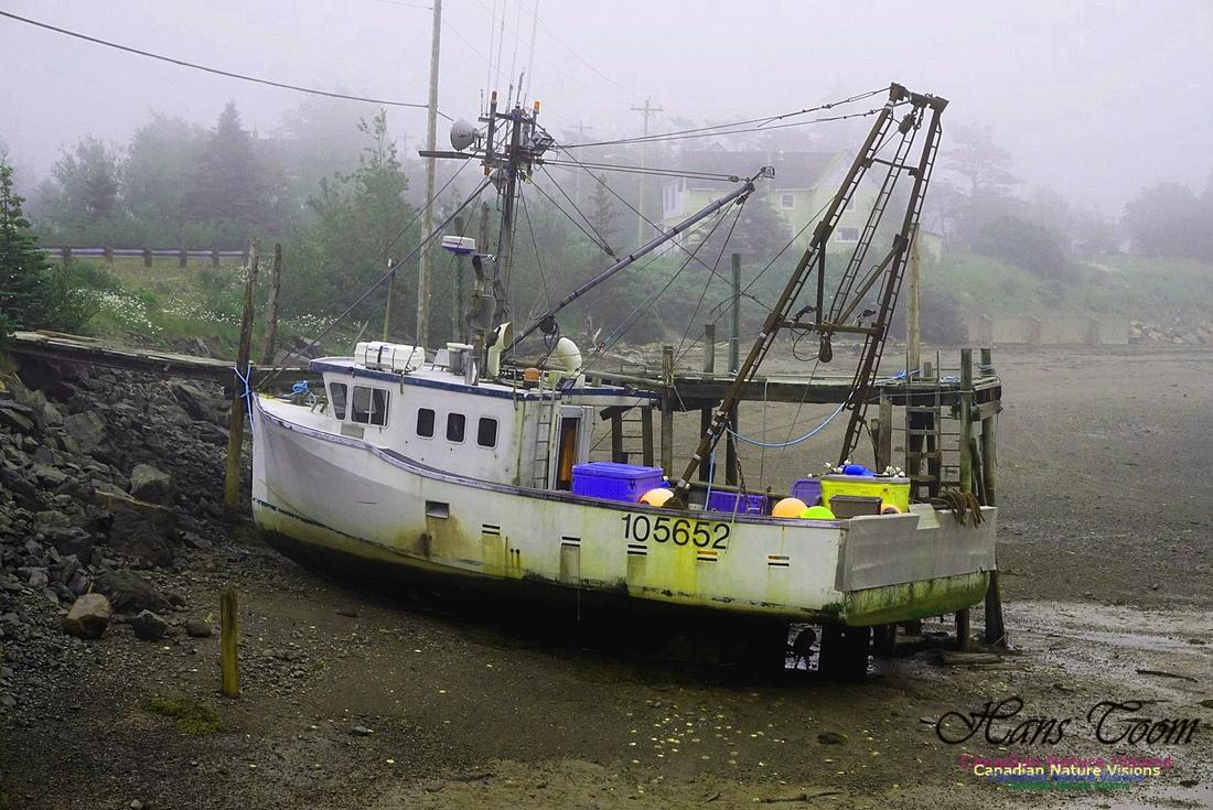 Dragger at Low Tide 100
