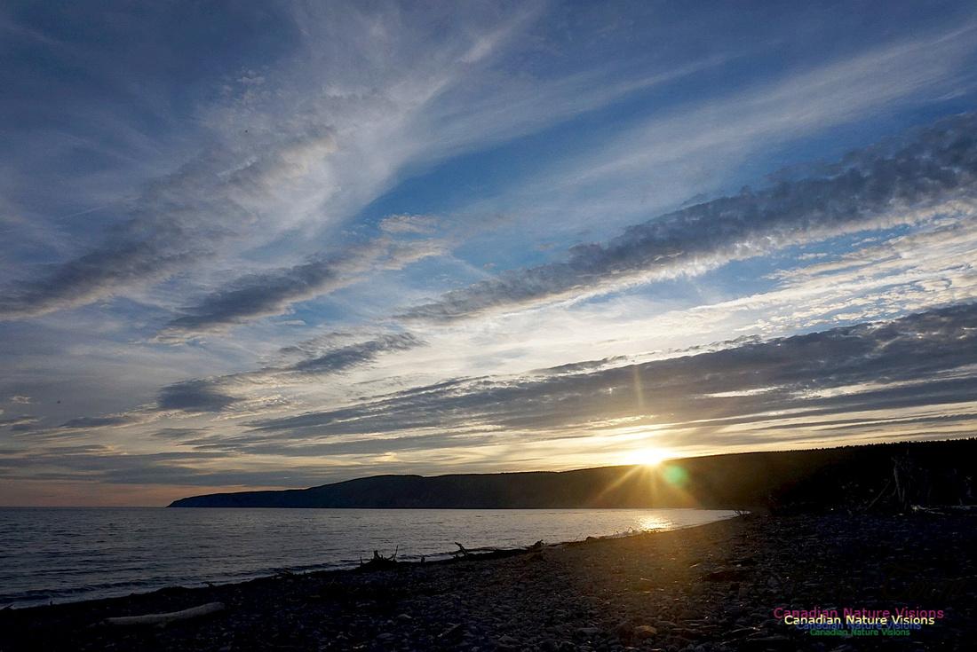 Sunset Over Cape Chignecto 102