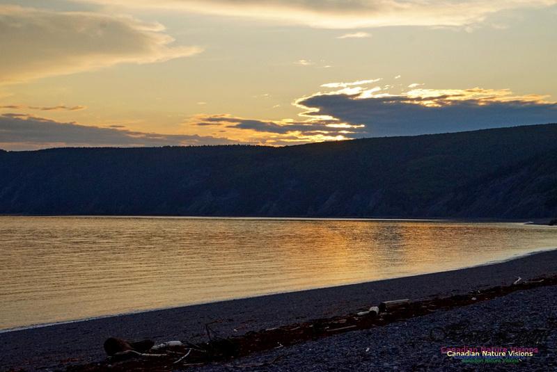 Sunset Over Cape Chignecto 222
