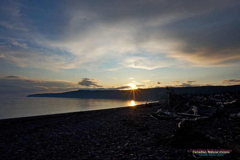 Sunset Over Cape Chignecto 230