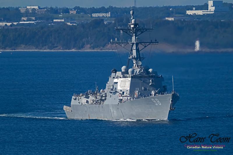 USS Forrest Sherman 102