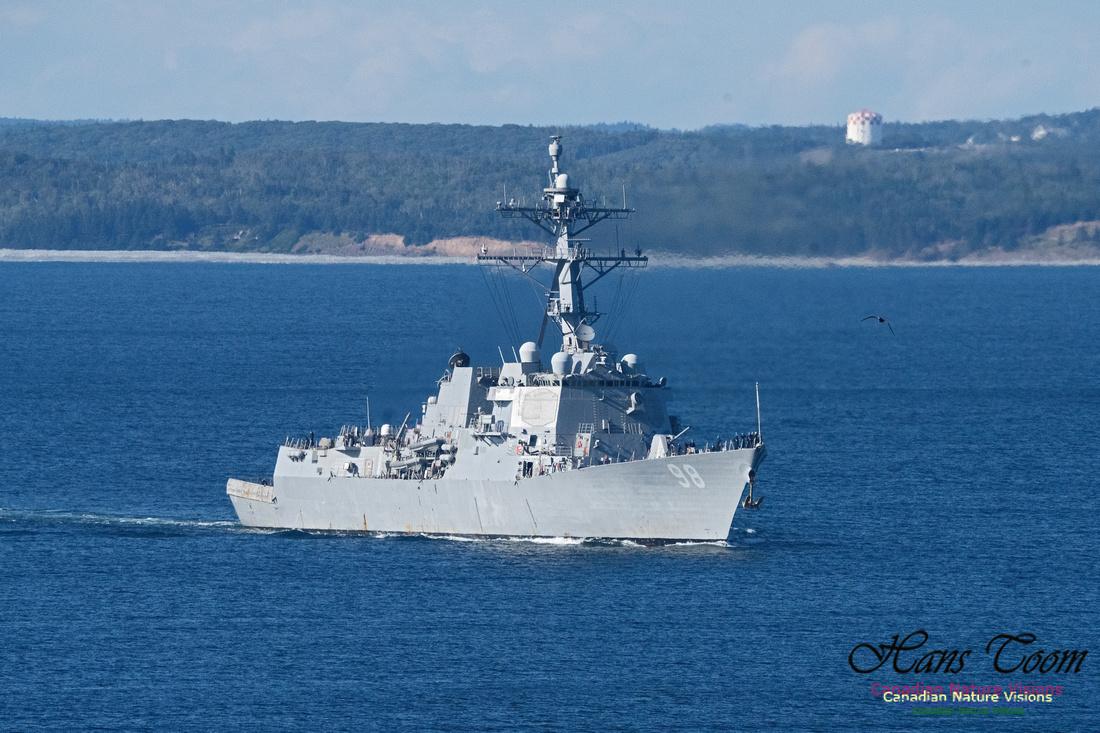 USS Forrest Sherman 101