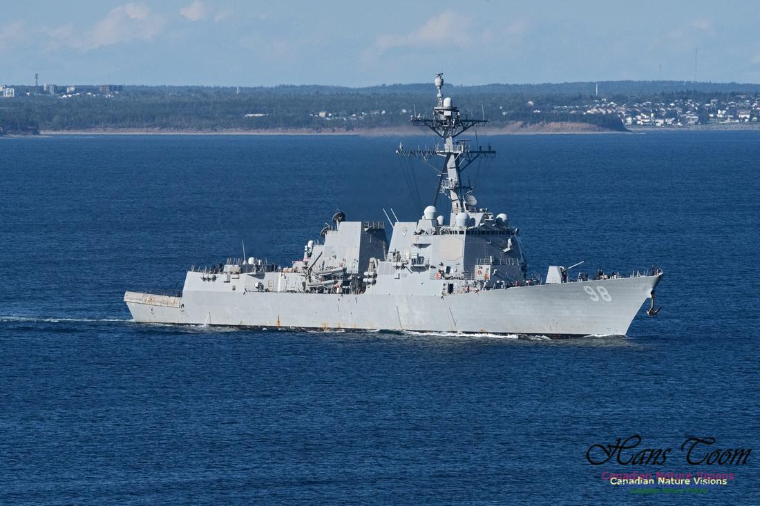 USS Forrest Sherman 100