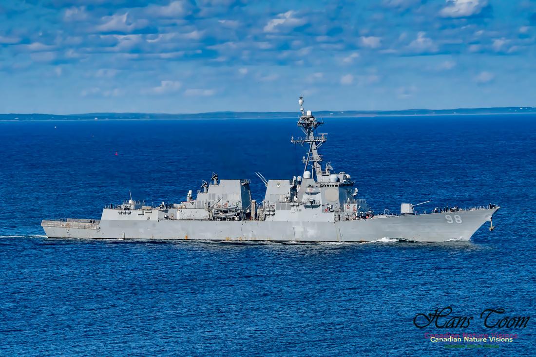 USS Forrest Sherman 105