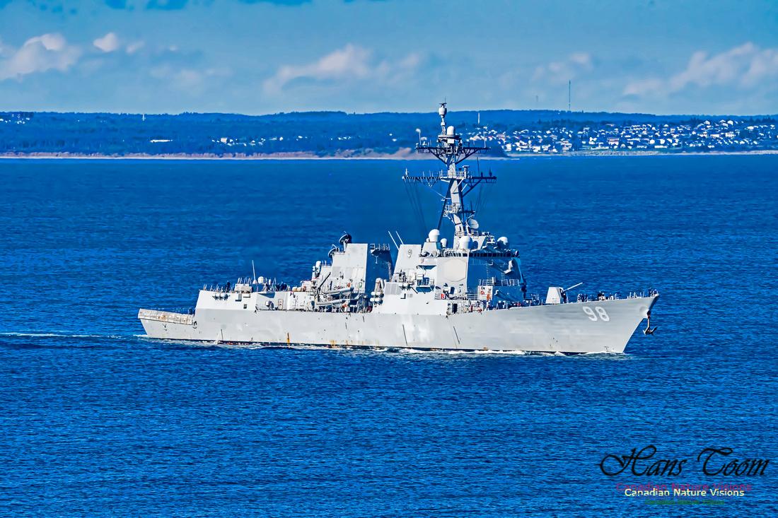 USS Forrest Sherman 106