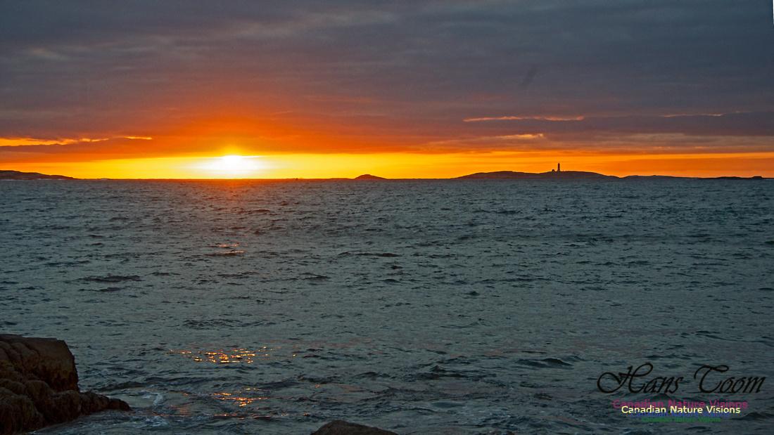 Dawn Over Sambro Islands 104