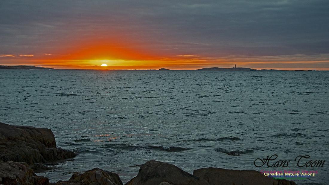 Dawn Over Sambro Islands 109