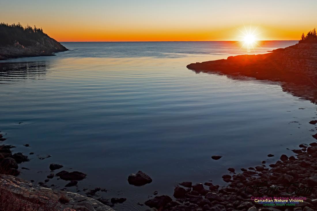 Sunrise at Herring Cove 100