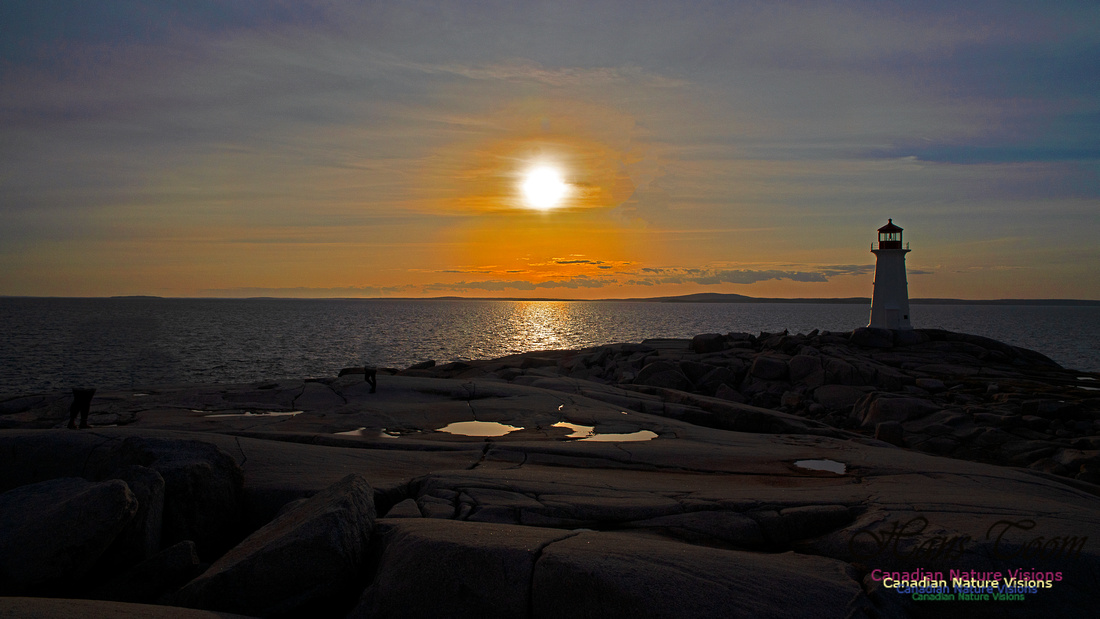 Peggy's Cove Sunset April 11, 2018 37