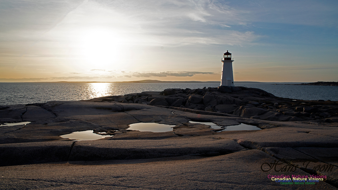 Peggy's Cove Sunset April 11, 2018 35