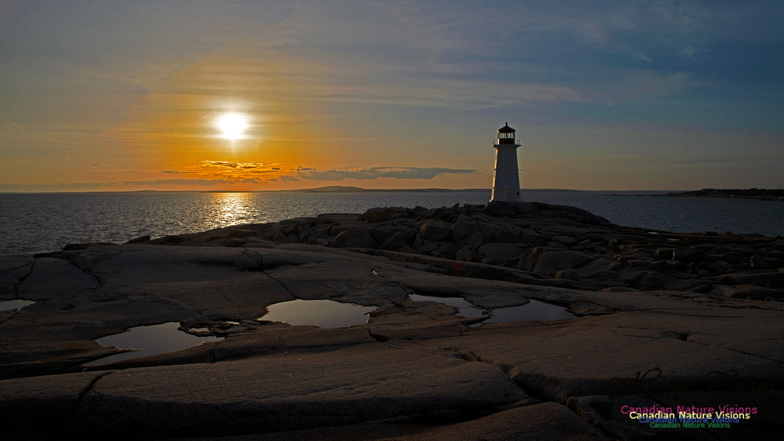 Peggy's Cove Sunset April 11, 2018 34