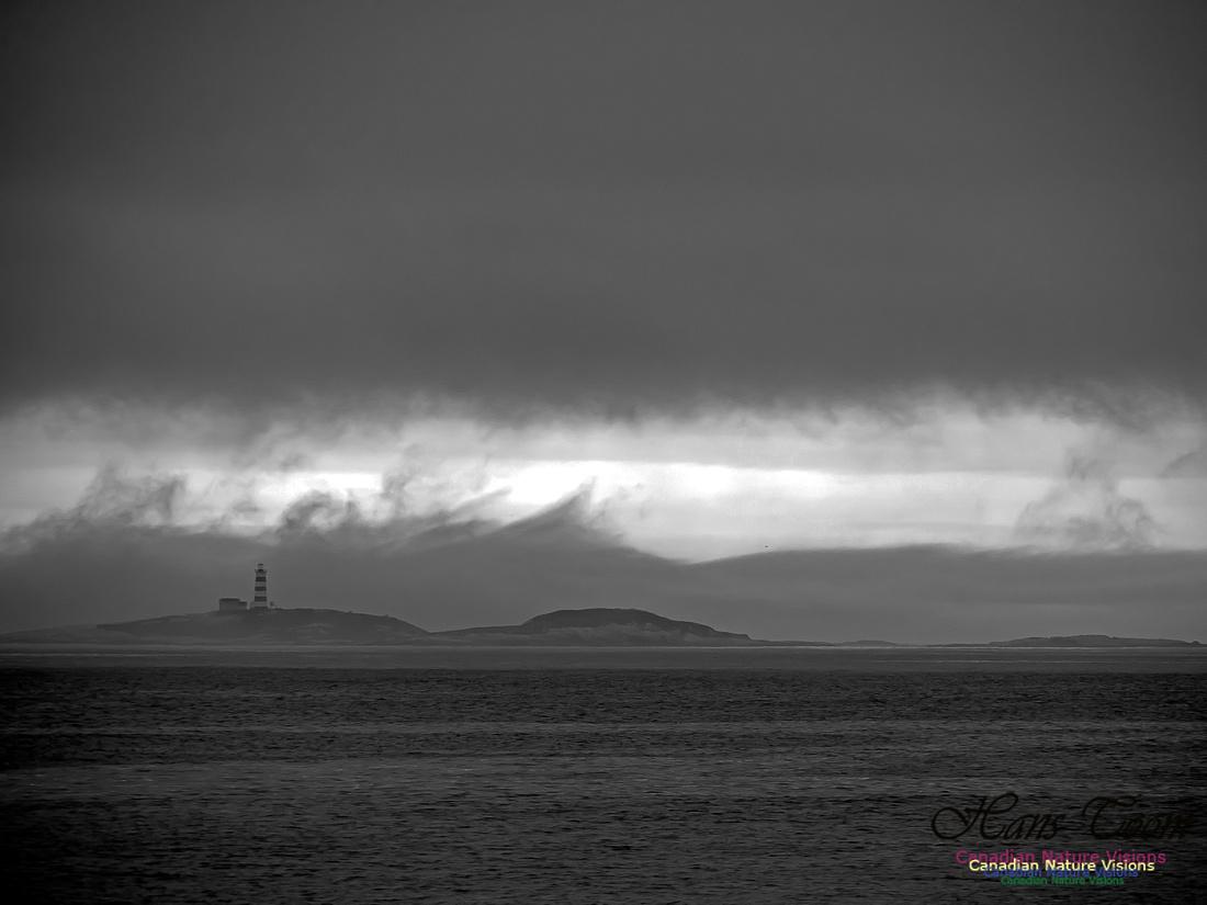 Sambro Island Ominous Clouds 5