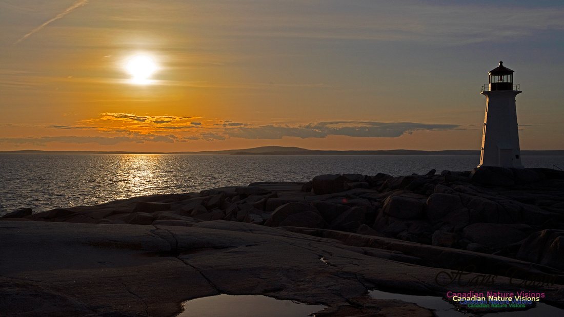 Peggy's Cove Sunset April 11, 2018 32