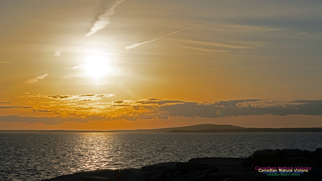 Peggy's Cove Sunset April 11, 2018 30